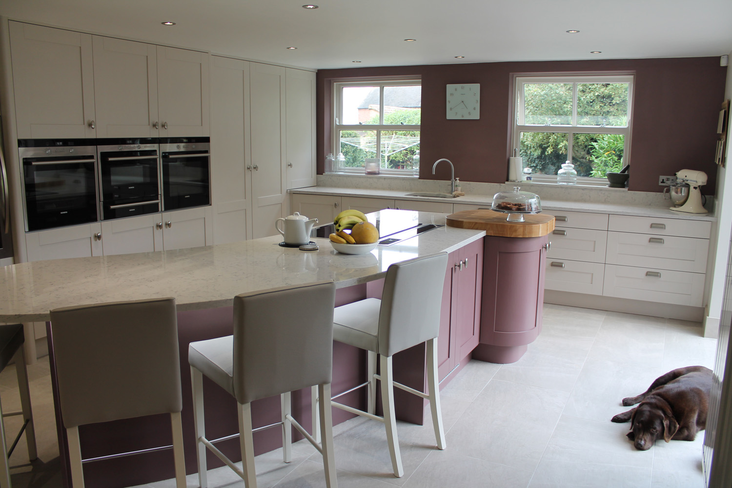 Bespoke Hand-Painted Shaker Style Kitchen